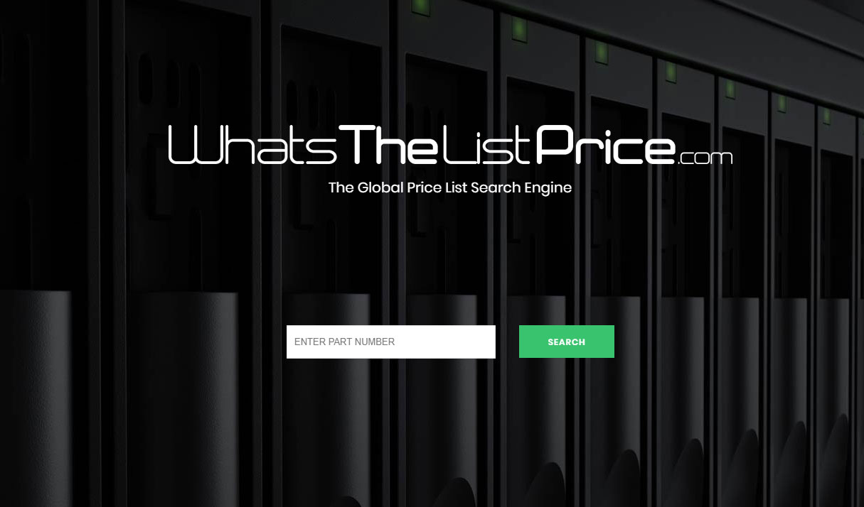 The All New Global Price List Search Engine